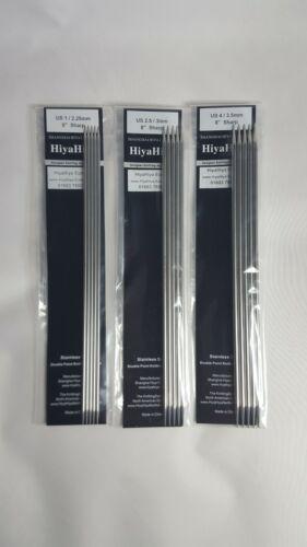 Hiyahiya Sharp Edelstahl Doppel Spitz Nadeln Verschiedene Größen 20 CM