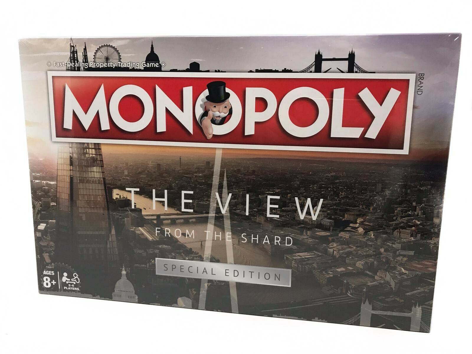 Extrêmement RARE Monopoly Board Game The View From The Shard Edition