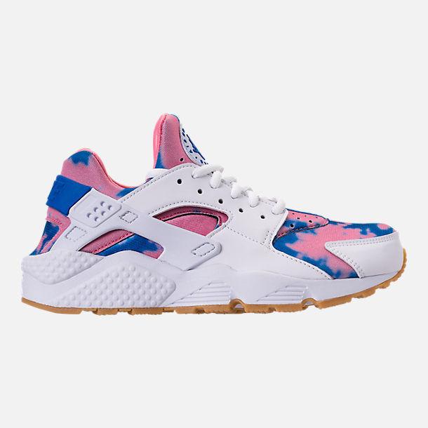 Mujeres Nike Air Huarache Run impresión tamaño 9 blancoo Azul Azul Azul Nebula Azul AQ0551-100  Esperando por ti