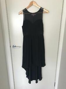 Details about Black Silk Dress. Piper Lane. Size 10
