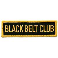 Black Belt Club Martial Arts Patch - 4 P1178