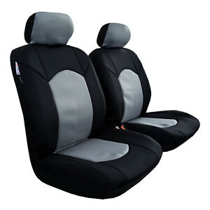 For-Mazda-BT-50-BT50-Neoprene-Seat-Covers-Black-Charcoal-Waterproof-Airbag-Safe
