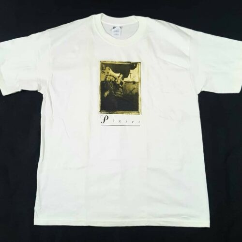 Vintage Pixies Surfer Rosa Album Cover White T Shi