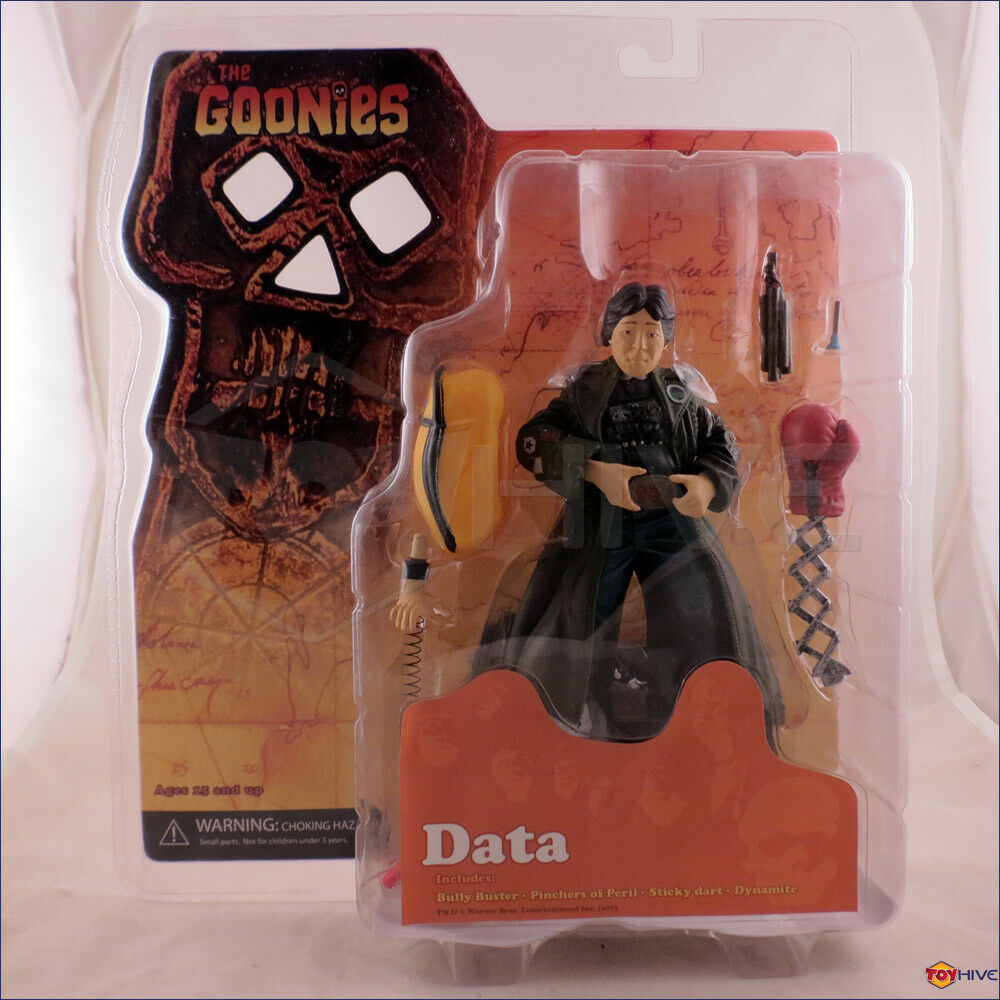 The Goonies - Data 7-inch scale movie action figure made by Mezco Toys 2007