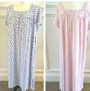 Croft-amp-Barrow-Nightgown-Plus-Size-1X-2X-3X-4X-in-Pink-amp-Purple-NEW