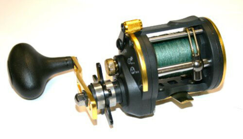 Icône leeda multiplicateur M30 sea pré-chargé de pêche bobine 40lb tresse