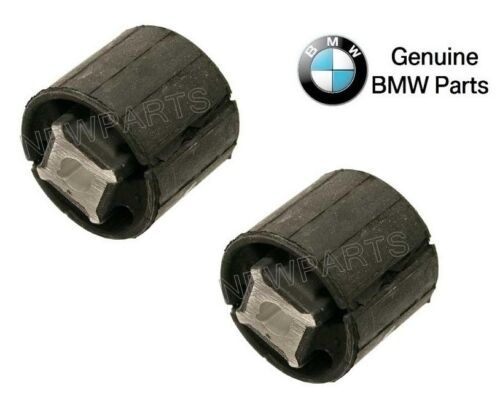 For BMW F25 F26 F15 F16 Pair Set of Rear Left+Right Forward Subframe Mounts OES