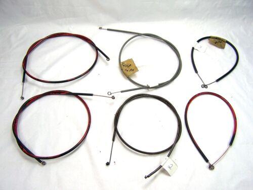 Chevrolet 1958 26-3158 Non Air Heat Only EZ Slider Cable Set 3Pcs