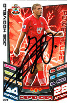 Southampton F.C Jos Hooiveld Hand Signed 12/13 Premier League Match Attax.