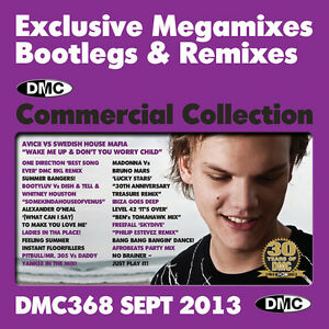 New-DMC-Commercial-Collection-368-Club-Hits-DJ-Clubber-CD-September-2013-Release