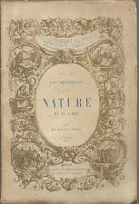 LES ILLUSTATO_MERVEILLES DE LA NATURE ET DE L'ART_EDITION ILLUSTREE_PARIS 1854