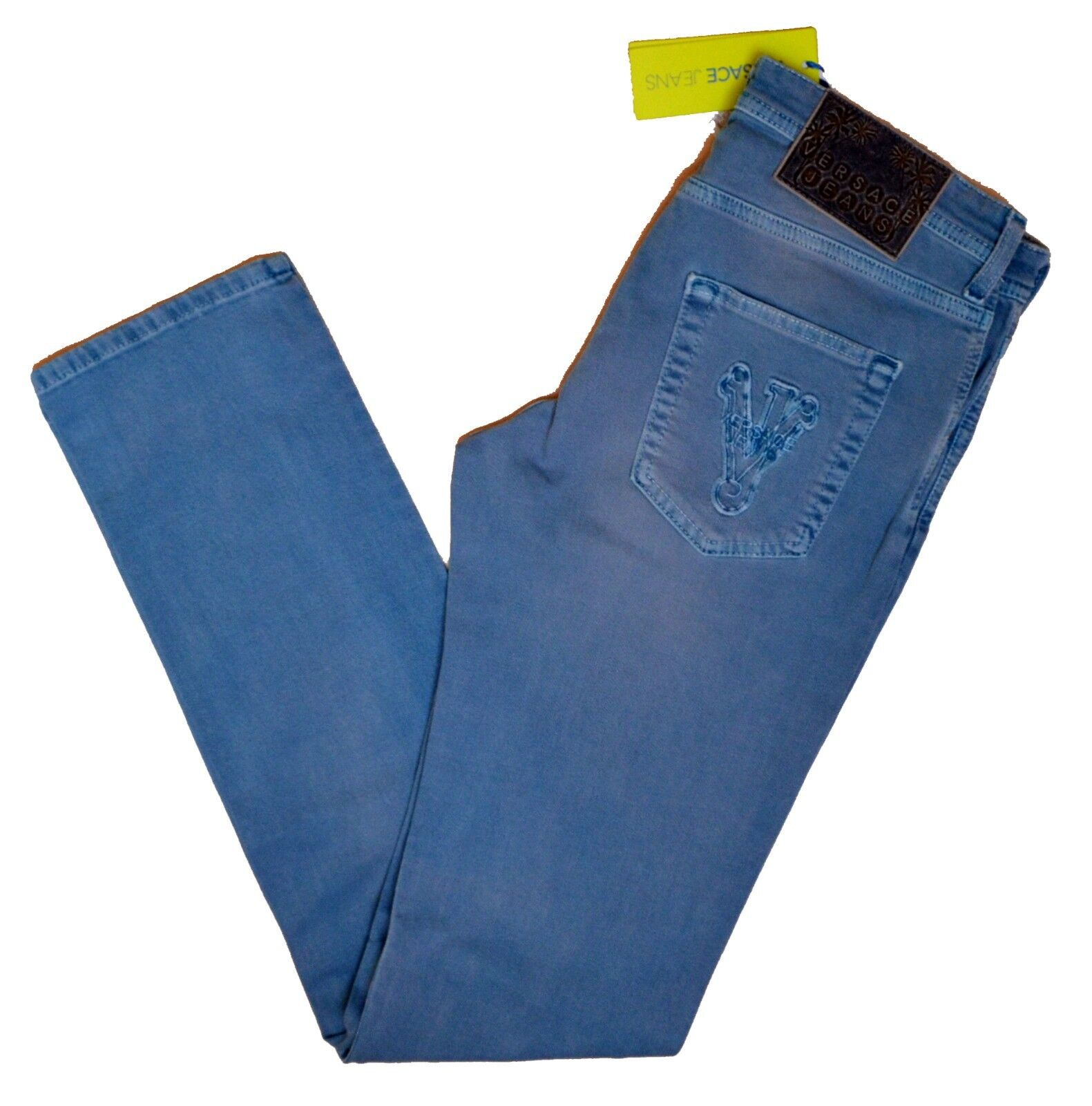 Jeans Gianni Versace Collection Men trousers Made ITALY Slim Fit Pantalone men