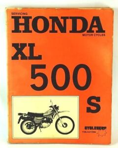 Servicing-Honda-Motor-Cycles-XL-500-S-XR-500-and-XL500R