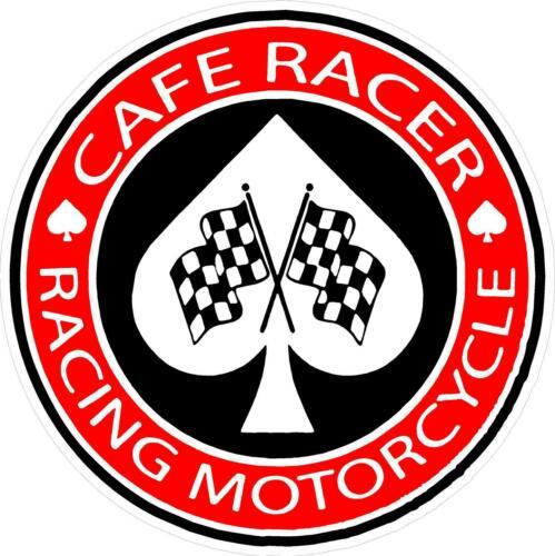 "2.0/"" Cafe Racer Rocker Mod Racing Bike Motorcycle Sticker Laminated #2542 2"