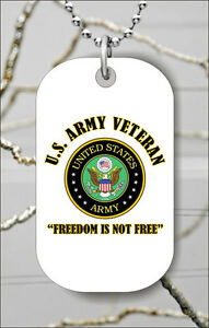 ARMY-VETERAN-DOG-TAG-NECKLACE-PENDANT-FREE-CHAIN-khj7Z