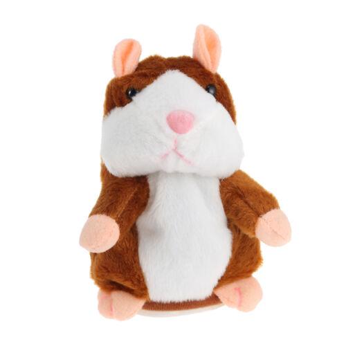 Cute Christmas Gift Electric Talking Plush Cartoon Hamster Interesting Kids Toys