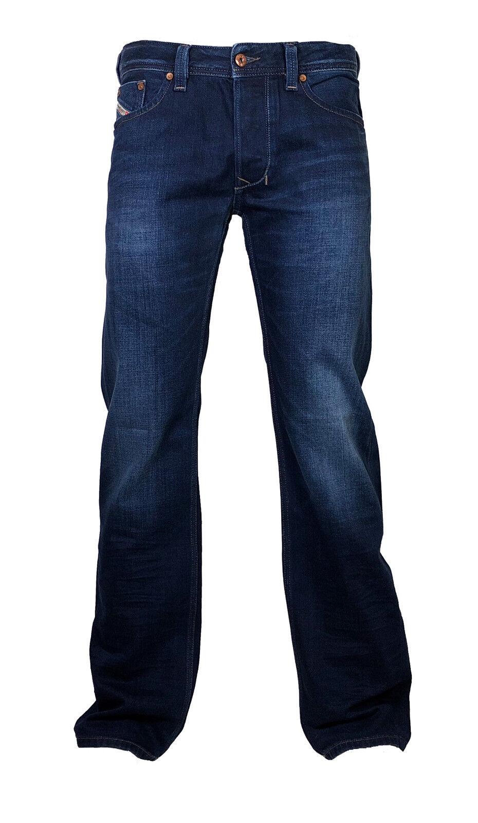 Diesel Straight Cut Jeans LARKEE 0860M dunkelblau verwaschen  34 30 NEU