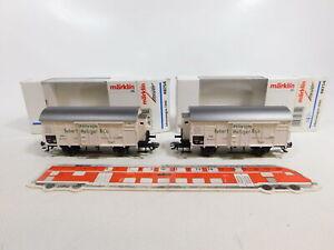CF113-0-5-2x-Maerklin-Insider-H0-AC-48754-Jahreswagen-1999-NEM-KK-NEUW-OVP