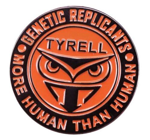 "Blade Runner Tyrell Logo 1/"" Tall Enamel Metal Pin"