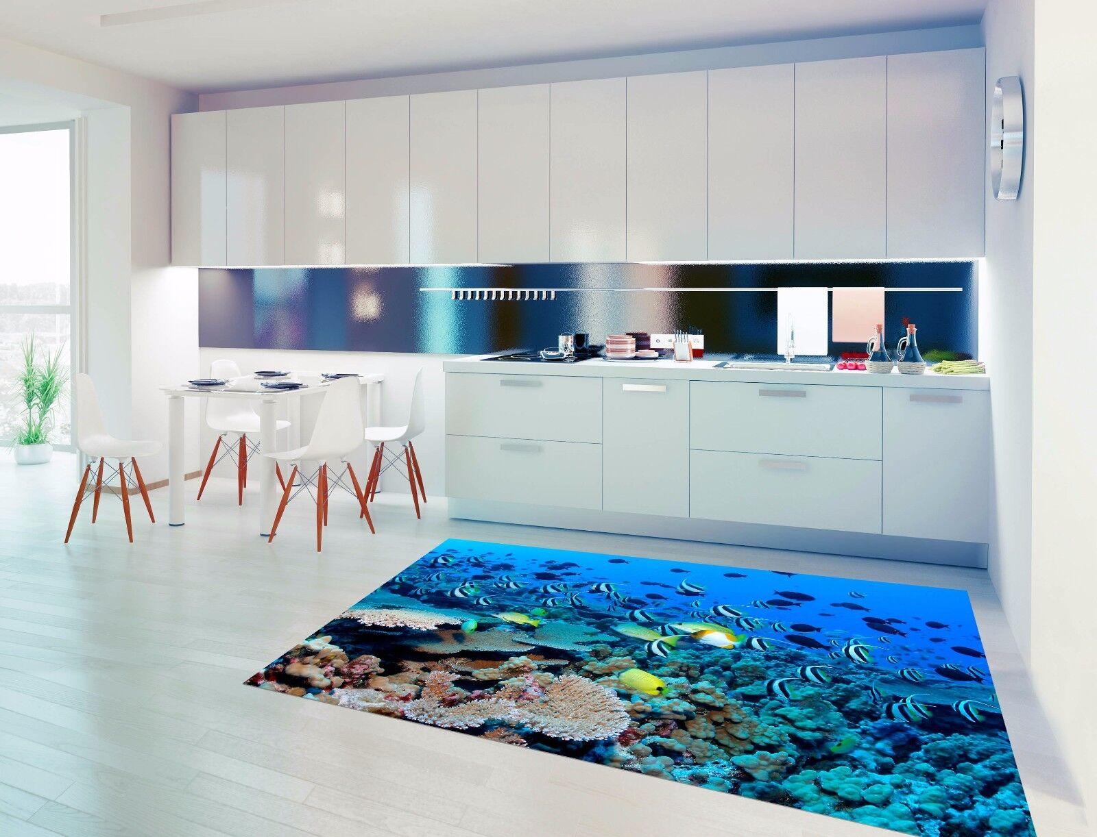 3D Marine Fish 72 Kitchen Mat Floor Murals Wall Print Wall AJ WALLPAPER UK Kyra