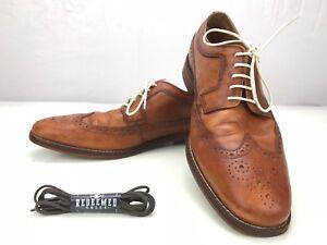 1fd241099e1 Cole Haan Giraldo Wingtip II Oxford- Cap Toe Leather Brogue Derby ...