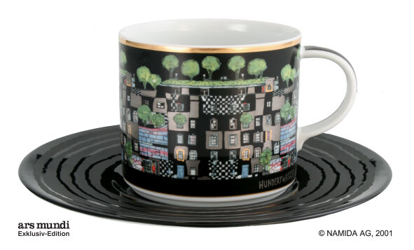 Royal tettau cent eau tasse tasse à café terminus vienne 3524
