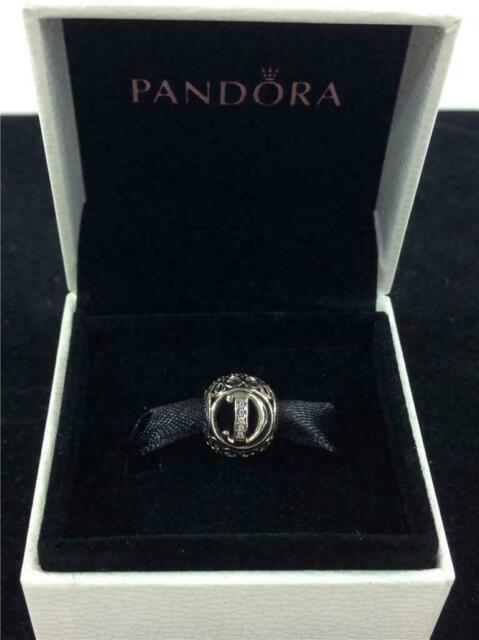 Genuine Authentic Pandora Charm Letter D  791848cz P