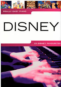 Klavier-Noten-Disney-Really-Easy-Piano-23-Titel-leicht-leiMittelstufe