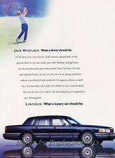 2000 Lincoln Navigator Original Advertisement Print Art Car Ad K01