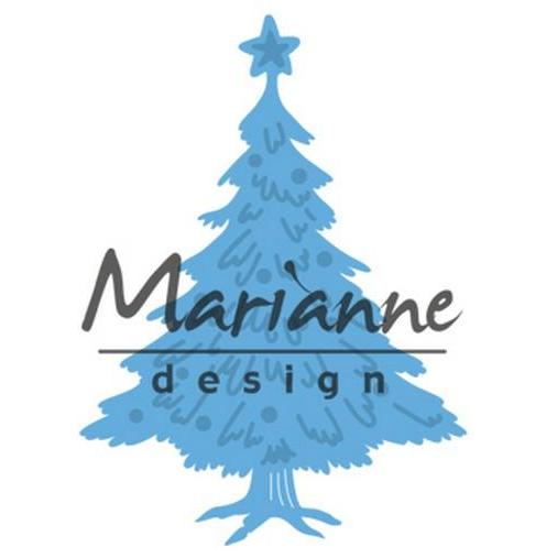Marianne D Creatable Tiny`s Weihnachtsbaum dekoriert LR0491 394491