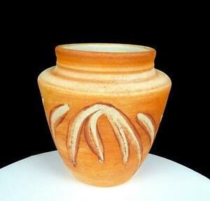 "ANDERSON SIGNED STUDIO ART POTTERY SOUTHWEST STYLE WHEEL-THROWN 7 3/8"" VASE 1996"