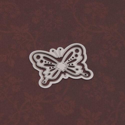 Schmetterling Metall Stanzformen SchabloneScrapbooking PapierkartePrägung AA