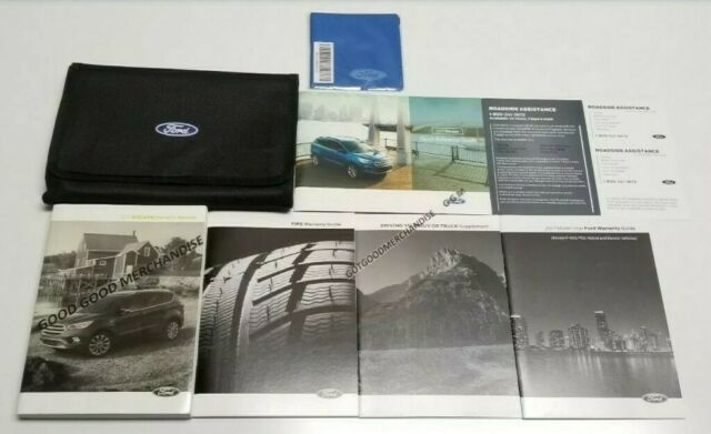 2017 Ford Escape Owners Manual User Guide Titanium Se S Manual Guide
