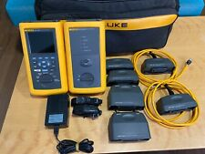 Fluke Dsp 4000 Cable Analyzer Amp Dsp 4000sr Smart Remote And More