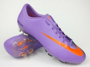 reputable site fe0a9 914e6 Image is loading Nike-Mens-Rare-Mercurial-Victory-FG-Purple-396121-