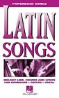 Latin Songs by Hal Leonard Publishing Corporation (Paperback / softback, 2000)