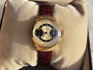 60db8c45ad3 A imagem está carregando Vintage-UNIVERSAL-Geneve-Cronografo-Manual-Ouro -Macico-18K-