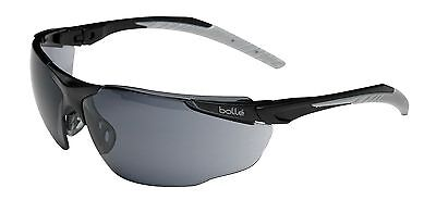 Bolle Universal Safety Glasses - Anti Scratch & Fog  - UNIPSF Smoke Lens