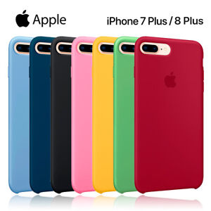 Funda-silicona-suave-iPhone-7-Plus-8-Plus-Apple-Silicone-case-microfibras