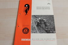 144631) Rabewerk Dreipunkt Beetpflüge Prospekt 196?