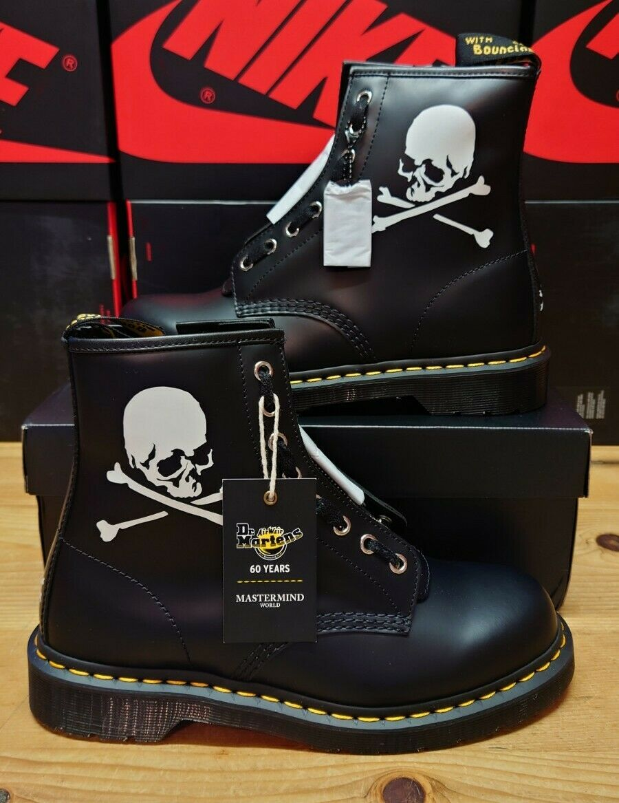 Dr Martens 1460 Boot Mastermind Skull 60th Anniversary UK 9 USA 10 EU 43