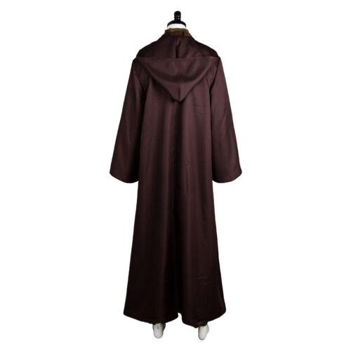Star Wars Jedi Anakin Skywalker Sith Darth Vader Costume Cape Cosplay Adult Suit