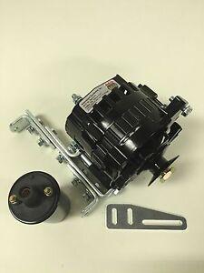 new willys jeep alternator one wire black 12v 105a 5 8 pulley rh ebay com