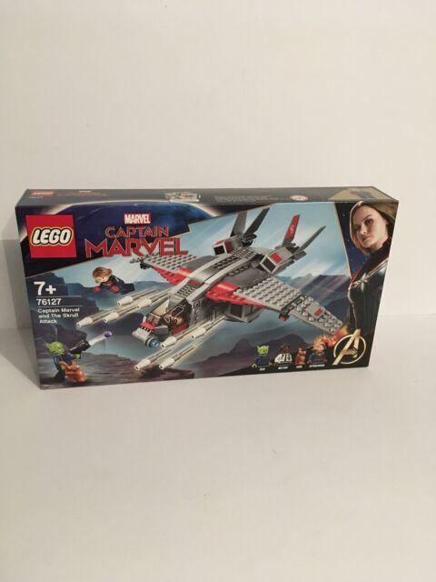 Lego Marvel Super Heroes Captain Marvel et le SKRULL Attack (76127) NEUF