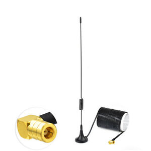 Car-Radio-Aerial-Antenna-Magnetic-Mount-DAB-Digital-SMB-Female-pin-RA-3m-cable