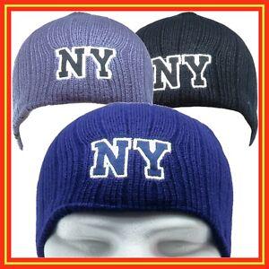 Gorro-invierno-NY-para-hombre-o-mujer-unisex-de-punto-lana-trabajo-deporte-Hat