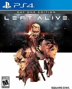 *NEW & SEALED* Left Alive Day One Edition (PS4) Square Enix Playstation 4 Game