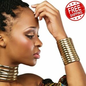 African-Style-Lady-Necklace-Collar-Statement-Choker-Women-Retro-Collar-Jewelry