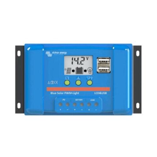 RÉGULATEUR SOLAIRE 20A 12//24V VICTRON BLUESOLAR PWM USB LCD