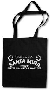 SANTA MIRA STOFFTASCHE Road Sign Firma Logo Company Cloverleaf Halloween City